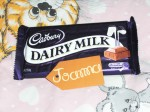 CADBURY's chocolate Dairy Milk!
